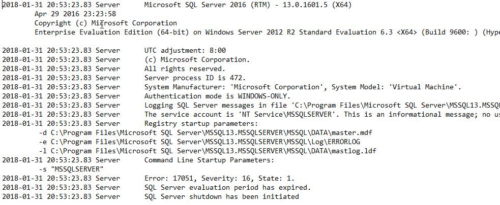 Changing sql server editions: standard, enterprise, evaluation and.